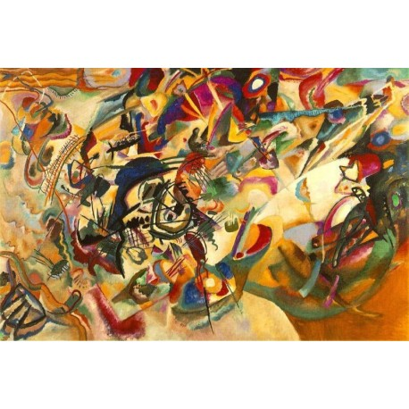 Composition VII by Wassily Kandinsky oil painting art gallery