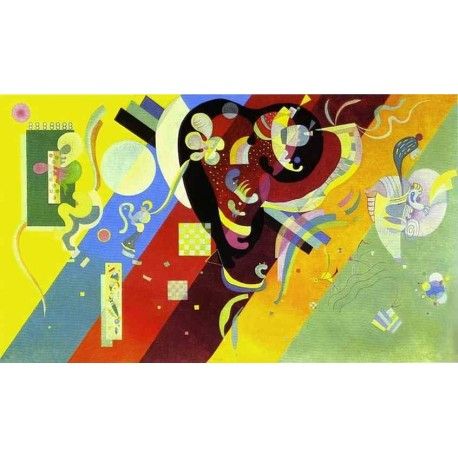 Composition LX by Wassily Kandinsky oil painting art gallery