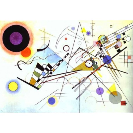 Composition VIII by Wassily Kandinsky oil painting art gallery