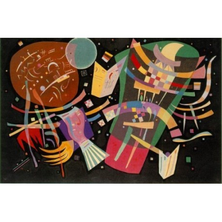 Composition X 1939 by Wassily Kandinsky oil painting art gallery