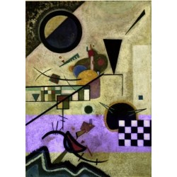 Contrasting Sounds 1924 by Wassily Kandinsky oil painting art gallery