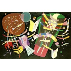Dominant Curve 1 by Wassily Kandinsky oil painting art gallery