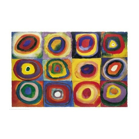 Farbstudie Quadrate by Wassily Kandinsky oil painting art gallery