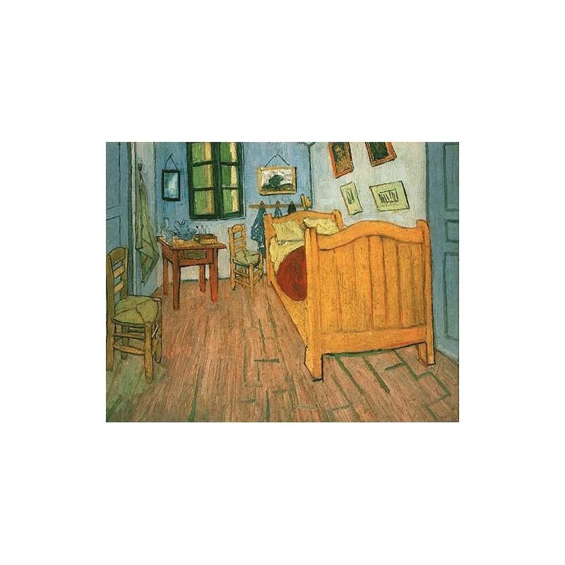 """Van Gogh Bedroom In Arles: """"Vincent's Bedroom In Arles"""" By Vincent Van Gogh"""