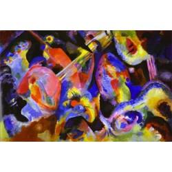 Flood Improvisation by Wassily Kandinsky oil painting art gallery