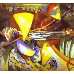 Improvisation11, 1910 by Wassily Kandinsky oil painting art gallery
