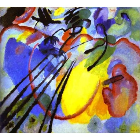 Improvisation by Wassily Kandinsky oil painting art gallery