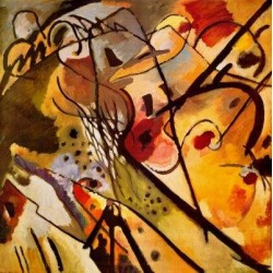 Improvisation 23 by Wassily Kandinsky oil painting art gallery