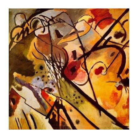 Improvisation 23 by Wassily Kandinsky oil painting art gallery