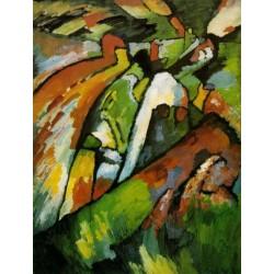 Improvisation 7, 1910 by Wassily Kandinsky oil painting art gallery