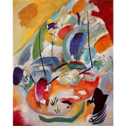 Improvisation No. 31- Sea Battle by Wassily Kandinsky oil painting art gallery