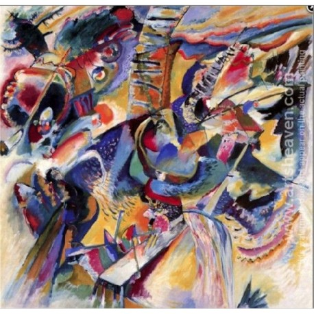 Improvisation Gorg by Wassily Kandinsky oil painting art gallery