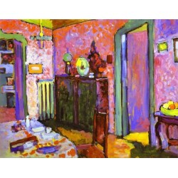 Interior My Dining Room by Wassily Kandinsky oil painting art gallery