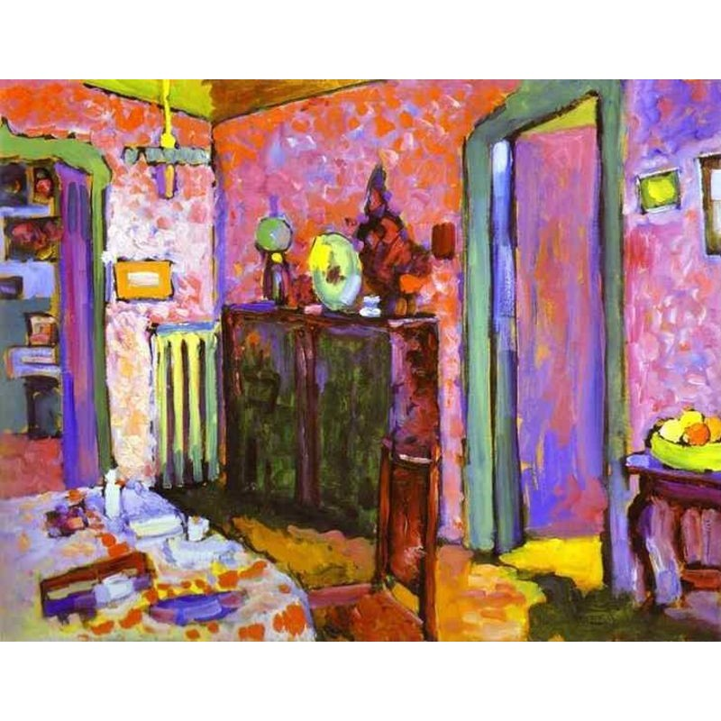 Quot Interior My Dining Room Quot By Wassily Kandinsky Oil