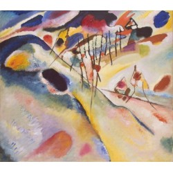 Landscape 1913 by Wassily Kandinsky oil painting art gallery