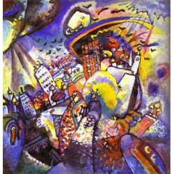 Moscow I by Wassily Kandinsky oil painting art gallery
