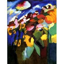 Murnau, Garden II 1910 by Wassily Kandinsky oil painting art gallery