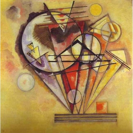 On Points by Wassily Kandinsky oil painting art gallery