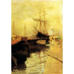 Odessa Port 1898 by Wassily Kandinsky oil painting art gallery