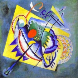 Red Oval by Wassily Kandinsky oil painting art gallery