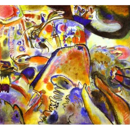 Small Pleasures by Wassily Kandinsky oil painting art gallery