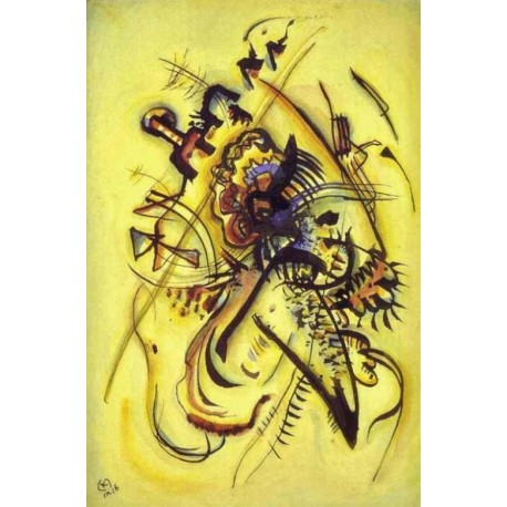 To the Unknown Voice 1916 by Wassily Kandinsky oil painting art gallery