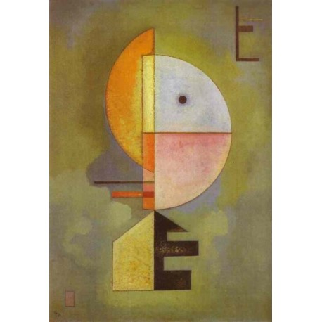 upward 1929 by Wassily Kandinsky oil painting art gallery