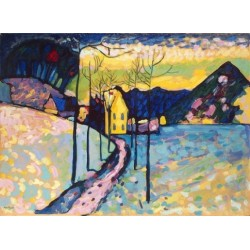 Winter Landscape 1909 by Wassily Kandinsky oil painting art gallery