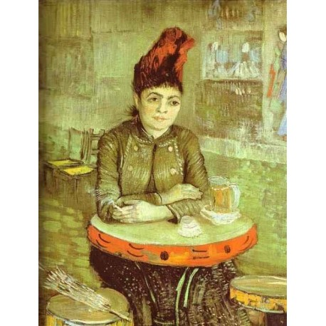 Agostina Segatori in the Cafe de Tambourin by Vincent Van Gogh