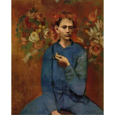 Boy with a pipe by Pablo Picasso oil painting art gallery