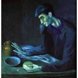 Break fast of a Blind Man by Pablo Picasso oil painting art gallery