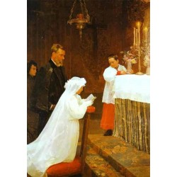 First Communion by Pablo Picasso oil painting art gallery