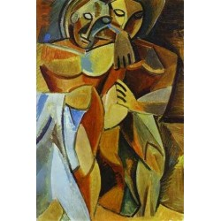 Friend ship by Pablo Picasso oil painting art gallery