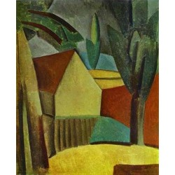 House in a Garden by Pablo Picasso oil painting art gallery