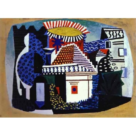 Juan les Pins by Pablo Picasso oil painting art gallery