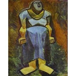 La Fermiere by Pablo Picasso oil painting art gallery