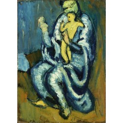 Motherhood by Pablo Picasso oil painting art gallery