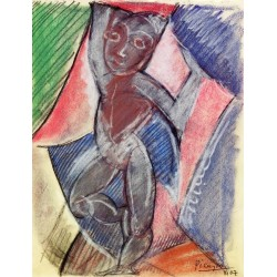 Nude Young Boy by Pablo Picasso oil painting art gallery
