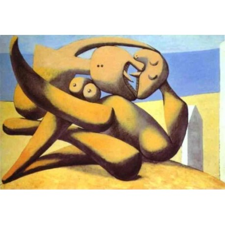 Figures on a Beach 1931 by Pablo Picasso -oil painting art gallery