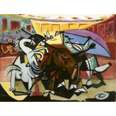 Bullfight by Pablo Picasso oil painting art gallery