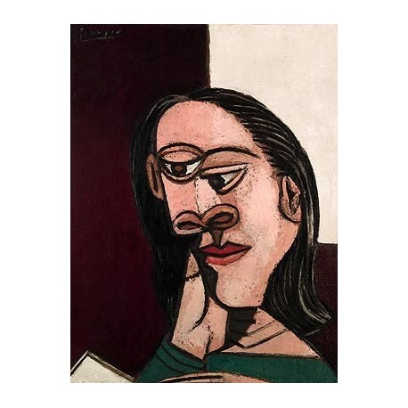 Dora Maar Head of a Woman by Pablo Picasso oil painting art gallery