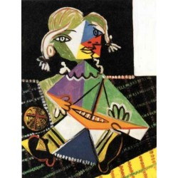 Girl with a Boat 1938 by Pablo Picasso oil painting art gallery