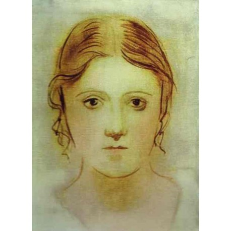 Olga first wife 1923 by Pablo Picasso oil painting art gallery