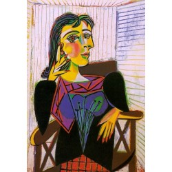 Portrait of Dora Maar 1937 by Pablo Picasso -oil painting art gallery