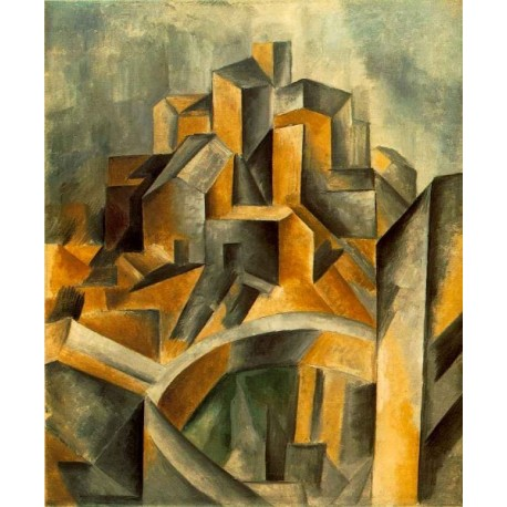 Reservoir at Horta 1909 by Pablo Picasso oil painting art gallery