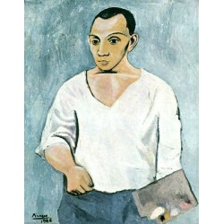 Self Portrait 1906 by Pablo Picasso -oil painting art gallery