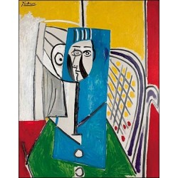 Sylvette by Pablo Picasso -oil painting art gallery