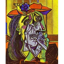 Weeping woman 1937 by Pablo Picasso oil painting art gallery