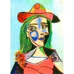 Woman by Pablo Picasso -oil painting art gallery