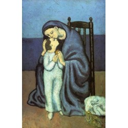 Motherhood II by Pablo Picasso -oil painting art gallery